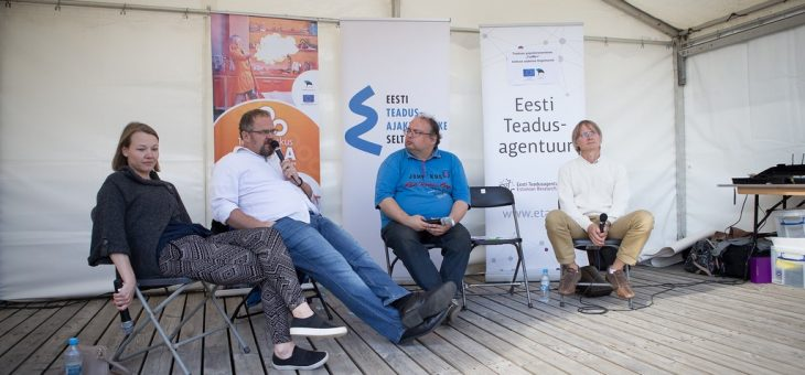 Prof Mart Loog participated the Opinion Festival in Paide