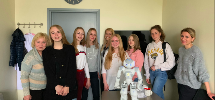 Students from Pskov interested in S&T program